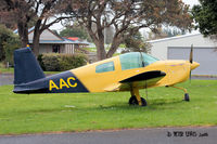 ZK-DNI @ NZAR - ex ZK-DNI, WFU and then to Auckland Aero Club as trailer-mounted display aircraft 'ZK-AAC' - by Peter Lewis
