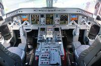 N981EE @ ORL - Lineage 1000 cockpit