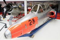 28 @ LFPB - Fouga CM-170 Magister, Exibited at Air & Space Museum Paris-Le Bourget (LFPB) - by Yves-Q