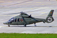 D-HNWM @ EDDL - Eurocopter EC.155B Dauphin [6613] (Polizei) Dusseldorf~D 18/05/2005 - by Ray Barber