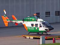 D-HNWL @ EDDL - MBB/Kawasaki BK-117B-2 [7212] (Polizei) Dusseldorf~D 18/05/2005 - by Ray Barber