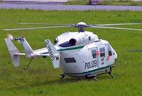 D-HNWO @ EDDL - MBB/Kawasaki BK-117C-1 [7552] (Polizei) Dusseldorf~D 19/05/2005 - by Ray Barber