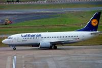 D-ABET @ EGBB - Boeing 737-330 [27903] (Lufthansa) Birmingham Int'l~G 25/01/2005 - by Ray Barber