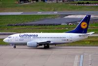 D-ABJA @ EGBB - Boeing 737-530 [25270] (Lufthansa) Birmingham Int'l~G 17/02/2005 - by Ray Barber