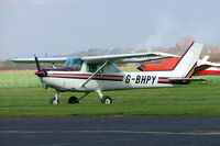 G-BHPY @ EGBW - Cessna 152 [152-82983] Wellesbourne Mountford~G 17/03/2005