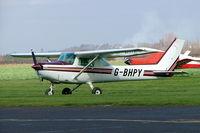 G-BHPY @ EGBW - Cessna 152 [152-82983] Wellesbourne Mountford~G 17/03/2005 - by Ray Barber