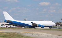 A6-GGP @ KSDF - Boeing 747-400F - by Mark Pasqualino