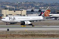 DQ-FJV @ KLAX - Arrival of Fiji Airways A332 - by FerryPNL
