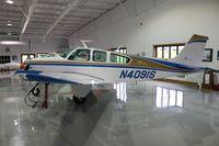 N4091S @ THA - Beech F33A