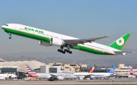 B-16720 @ KLAX - Departure of a EVA B773 - by FerryPNL