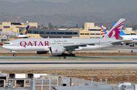 A7-BBB @ KLAX - Qatar B772 arrived in LAX - by FerryPNL