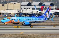 C-GWSV @ KLAX - Westjets Disney B738 arrived - by FerryPNL