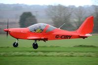 G-CIRY @ X3CX - Landing at Northrepps. - by Graham Reeve
