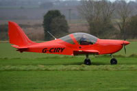 G-CIRY @ X3CX - Just landed at Northrepps. - by Graham Reeve