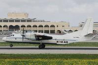 LZ-ABJ @ LMML - Antonov An-26B LZ-ABJ Rose Air - by Raymond Zammit