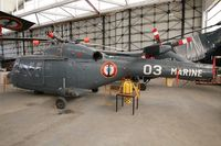 03 @ LFXR - Westland Lynx HAS.2(FN), Preserved at Naval Aviation Museum, Rochefort-Soubise airport (LFXR) - by Yves-Q