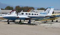N5882T @ CNO - Cessna 421B