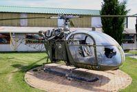152 @ LFLQ - Sud SE-3130 Alouette II, Musée Européen de l'Aviation de Chasse, Montélimar-Ancône airfield (LFLQ) - by Yves-Q