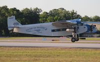 N8407 @ LAL - Ford Trimotor - by Florida Metal