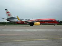 D-ATUC @ EDDK - Boeing 737-8K5(WL) - TUIfly 'Im Zug zum Flug' - D-ATUC - 20.05.2013 - CGN - by Ralf Winter