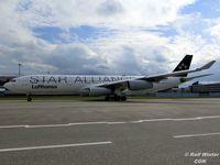 D-AIGW @ EDDK - Airbus A340-313 - DLH LH Lufthansa 'Gladbeck' Star Alliance livery - D-AIGW - 04.2016 - CGN - by Ralf Winter