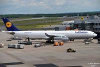 D-AIGT @ EDDL - Airbus A340-313 - LH DLH Lufthansa 'Viersen' - D-AIGT - 26.05.2015 - DUS - by Ralf Winter