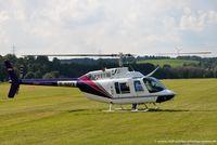 D-HAFX @ EDRV - Bell 206B JetRanger 3 - Agrarflug Helilift GmbH - D-HAFX - 24.08.2014 - EDRV Wershofen - by Ralf Winter