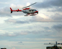 C-FTHU @ CXH - taken as landing at heliport in Vancouver harbour, adjacent to container terminal - Sept 2008 - by Neil Henry