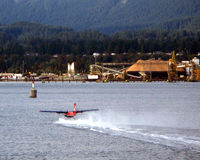C-FWTE - taking off from Vancouver harbour (Burrard Inlet) - Sept 2008 - by Neil Henry