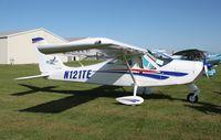 N121TE @ 0C2 - Tecam P-92 Eaglet - by Mark Pasqualino