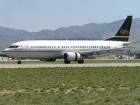 C-FLER @ KBOI - Landing roll out on RWY 28L. - by Gerald Howard