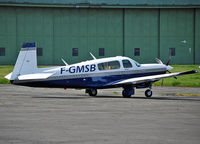 F-GMSB @ EDVM - Hannover Expo visitor at Hildesheim Airfield