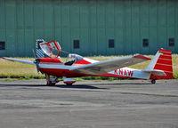 D-KNAW @ EDVM - Motorglider visit Hildesheim Airfield ( EDVM )