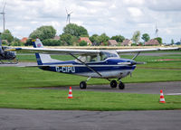 G-CIPU @ EDBX - Small Cessna at Heide/Büsum