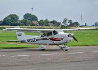 N921EZ @ EDBX - Cessna 172 Skyhawk at EDBX / Heide-Büsum Airfield