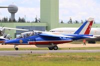 E95 @ LFOA - Dassault-Dornier Alpha Jet E (F-TERQ), Athos 07 of Patrouille de France 2016, Avord Air Base 702 (LFOA) Open day 2016 - by Yves-Q