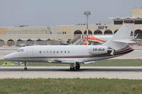 CS-DLD @ LMML - Dassault Falcon 2000EX CS-DLD Netjets - by Raymond Zammit