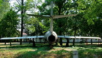 807 @ LHBC - Békéscsaba Airport, Hungary. After 1969, scrapping, on display at the airport. - by Attila Groszvald-Groszi