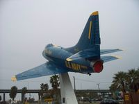 142675 - 'Gate Guardian' at USS Lexington (aircraft carrier museum) Corpus Christi, TX.   Photo take Feb 2009 - by Neil Henry