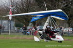 G-MYRS @ X4NC - at the Brass Monkey fly in, North Coates - by Chris Hall