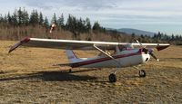 C-GASU @ CAP3 - C-GASU at Sechelt after my first longer distance cross country - by James Abbott