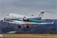 D-ANTR @ EDDR - Canadair CL-600-2B16 Challenger 604 - by Jerzy Maciaszek