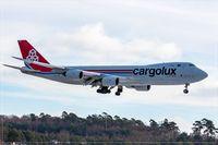 LX-VCD @ ELLX - (City of Luxembourg), 2011 Boeing 747-8R7F - by Jerzy Maciaszek