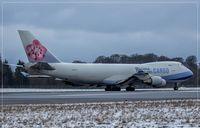 B-18715 @ ELLX - Boeing 747-409F (SCD), c/n: 33731 - by Jerzy Maciaszek