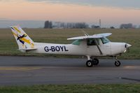 G-BOYL @ EGSH - Evening Leaving. - by keithnewsome