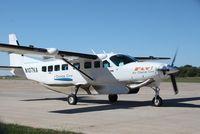N107KA @ KBRL - Cessna 208B - by Mark Pasqualino