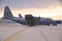 90-1793 @ KBOI - Parked early morning on the Western Aircraft ramp. 139th Airlift Wing, Missouri ANG - by Gerald Howard