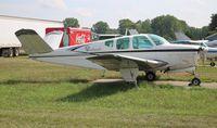N9567R @ YIP - Beech K35 - by Florida Metal