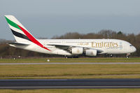A6-EDL @ EGCC - EK17 taxies to stand after arrival from Dubai. - by Milan Mikac