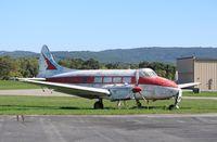 N557JC @ KRDG - DH-104 Dove 5A